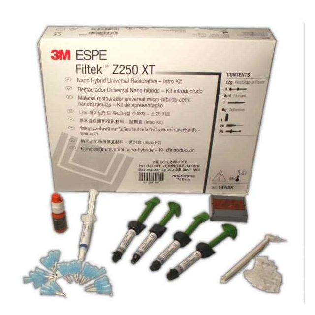 Filtek Z250 Xt Intro Kit Jeringas 1470ik