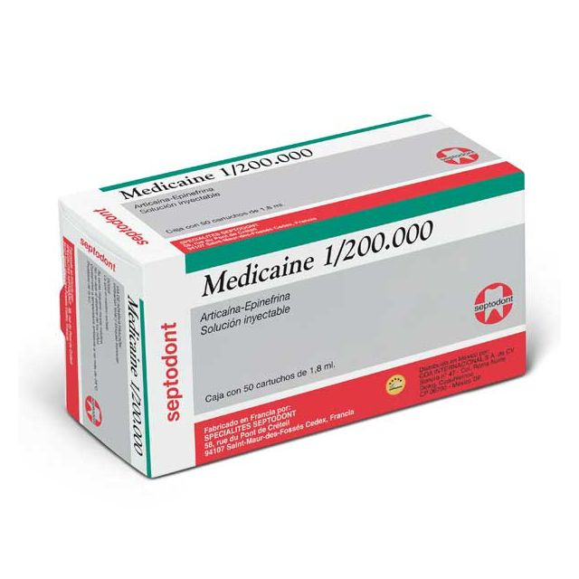 Medicaine C/epinefrina 1/200000